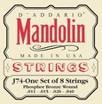 D'Addario J74 Mandolin Strings Med 11-40
